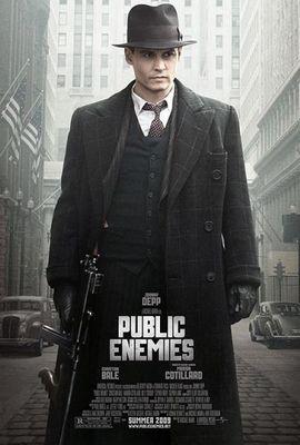 """Постер к фильму """"Public Enemies"""""""
