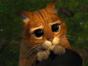 Кот в сапогах из Шрека
